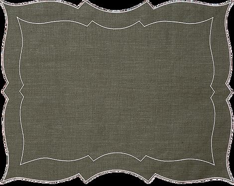 Parentesi Rectangular - Brown Green