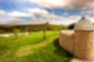 Dry Stone Wall Pillar