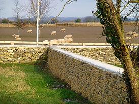 Dry Stone Farm wall