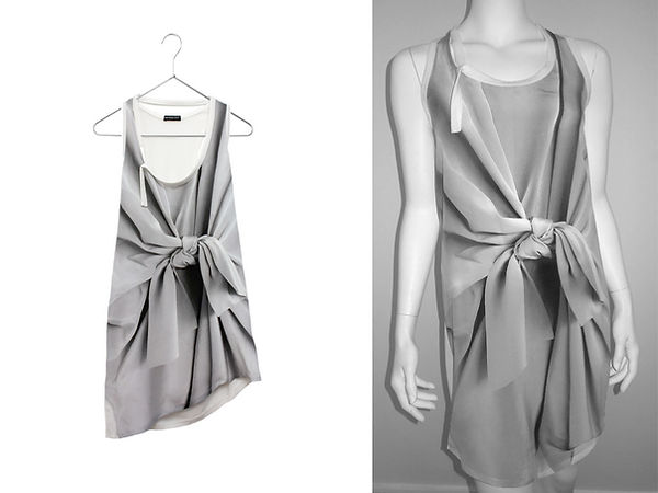 Bow printed Silk Top & Dress.jpg