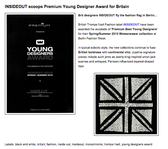 Winners of Young Designers Award