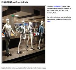Colette store Paris