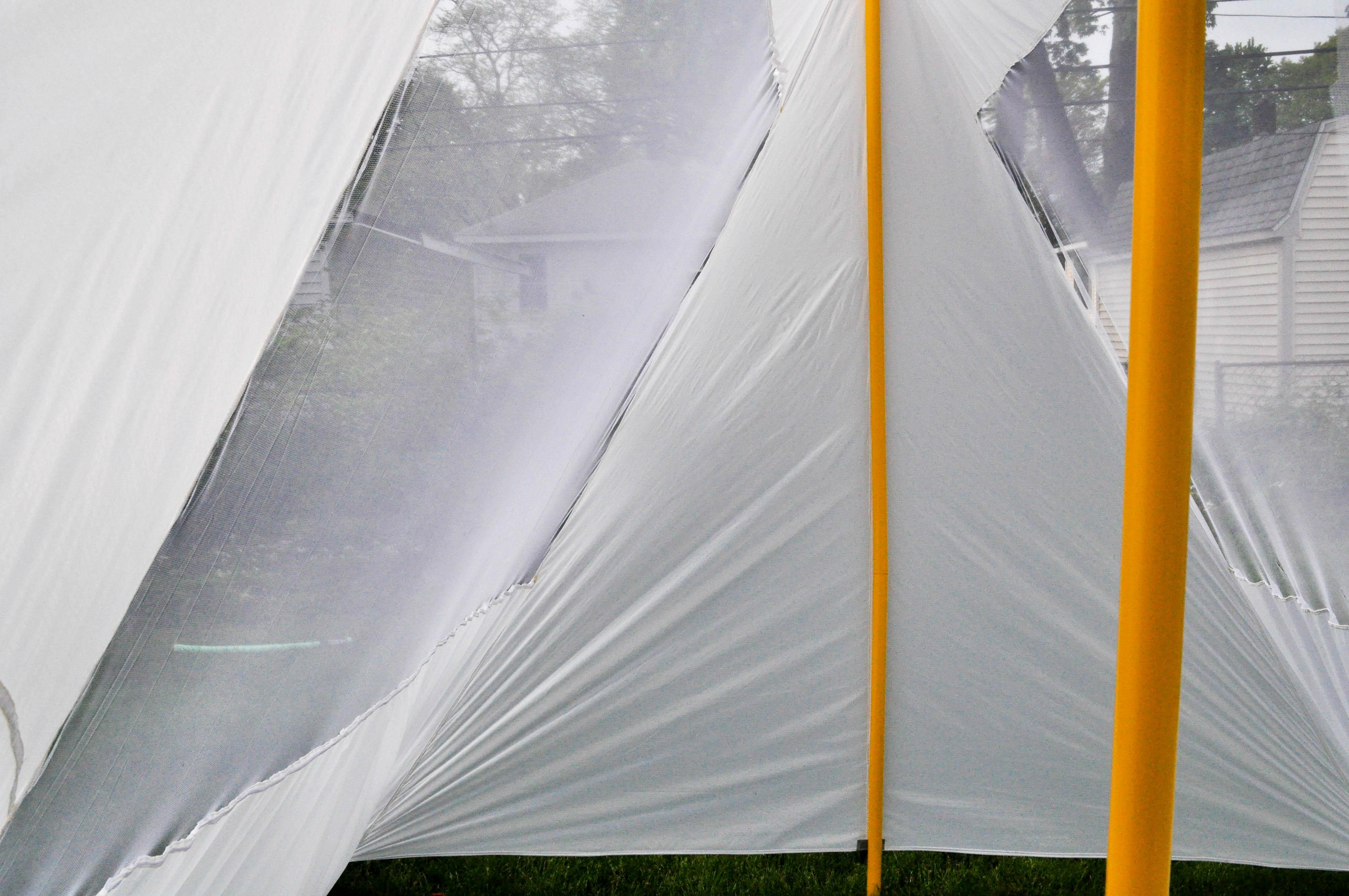 w|edge tent, interior