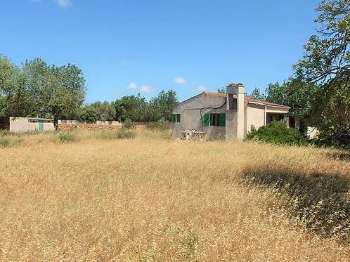 Finca near Llucmajor which can be made in a nice home