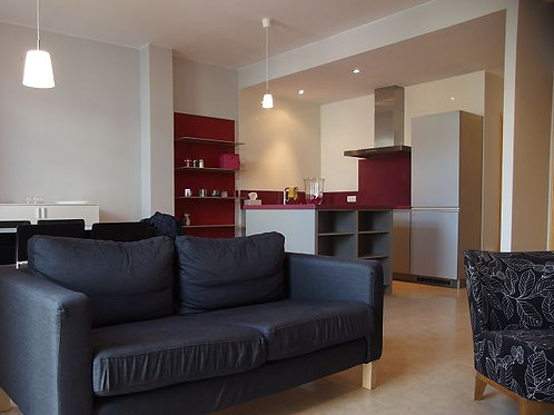 Apartment with roof terrace on second floor in Campos