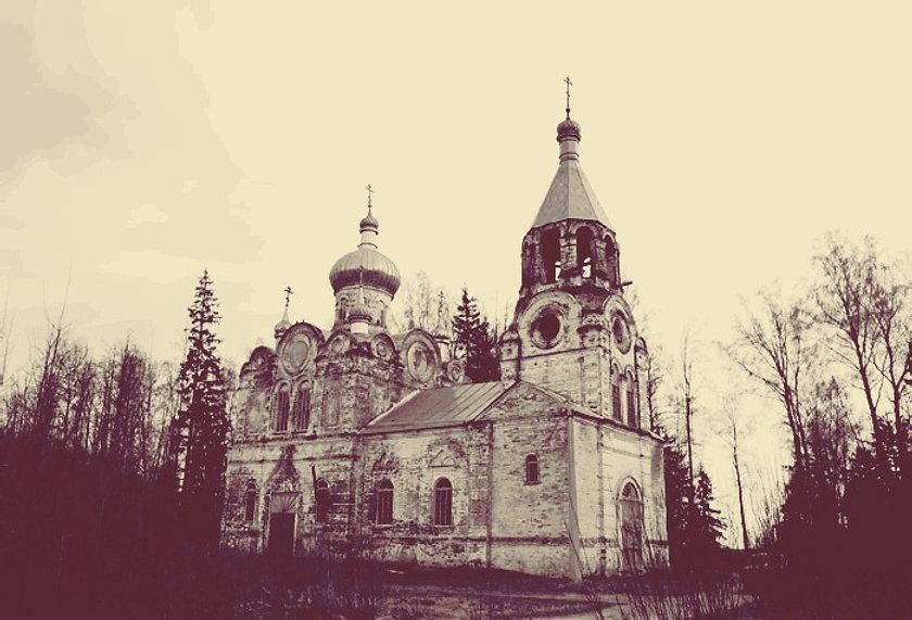 Вознесенская церковь в Новопокровском. В