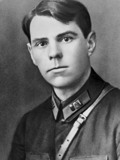 Командир стрелкового полка Александр Вас