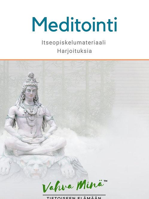 Meditoinnin itseopiskelumateriaali