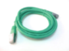 Green Ethernet Cable