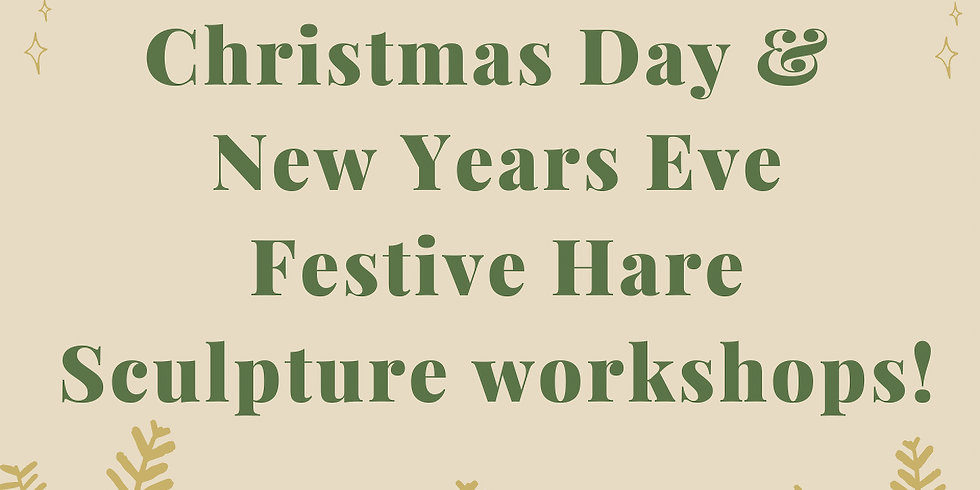 UNIQUE NEW YEAR'S EVE WORKSHOP!