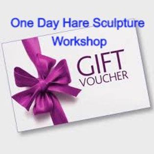 Gift Voucher for a 1 Day Hare Sculpture Workshop