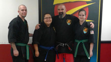 Congrats to our newest Blue and Green/Brown belts!
