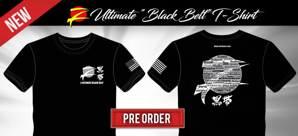 Z-Ultimate Black Belt T-Shirt