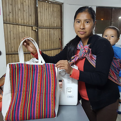 Peruvian Manta Reusable Tote
