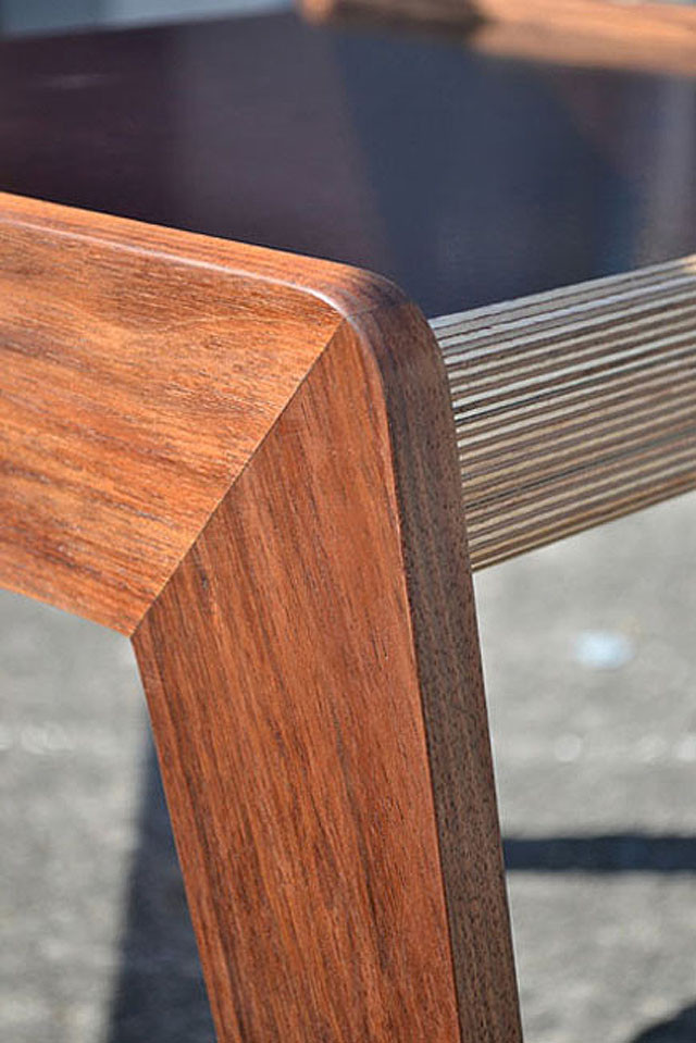 Bridge side table