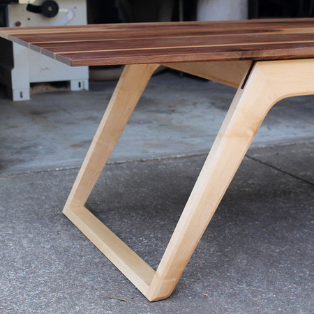 ASYMMETRICAL DINING TABLE