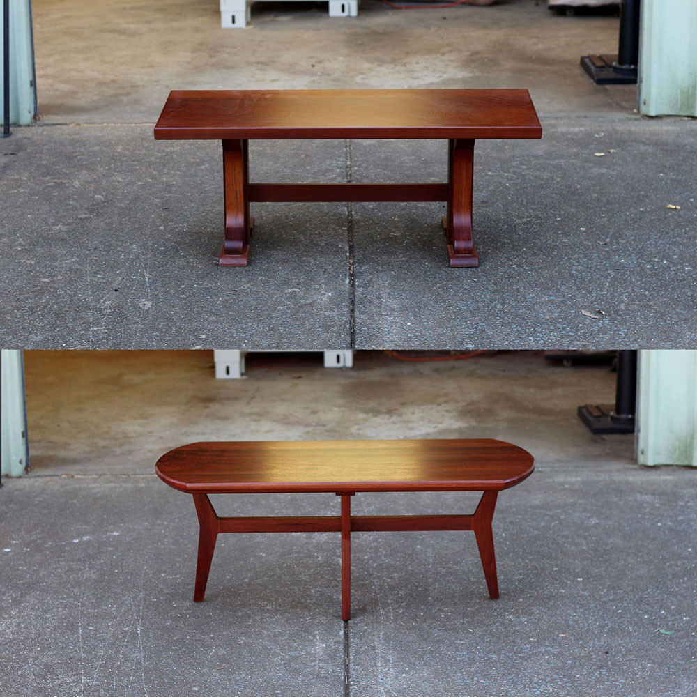 Fremantle side table before and after