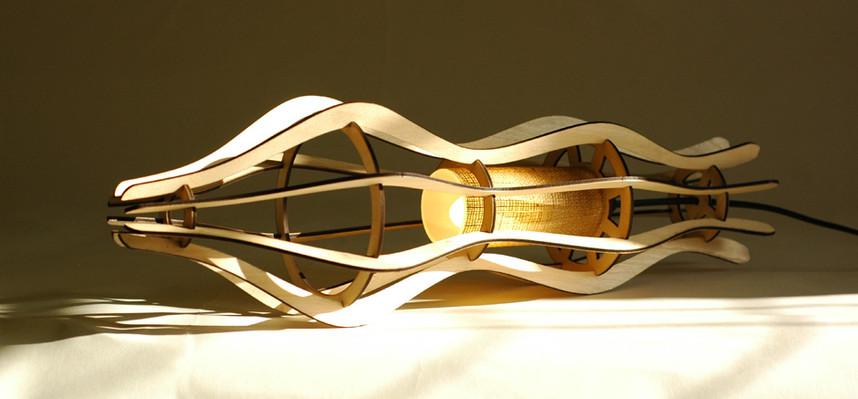 Figure table lamp