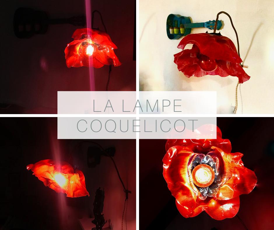 la lampe coquelicot