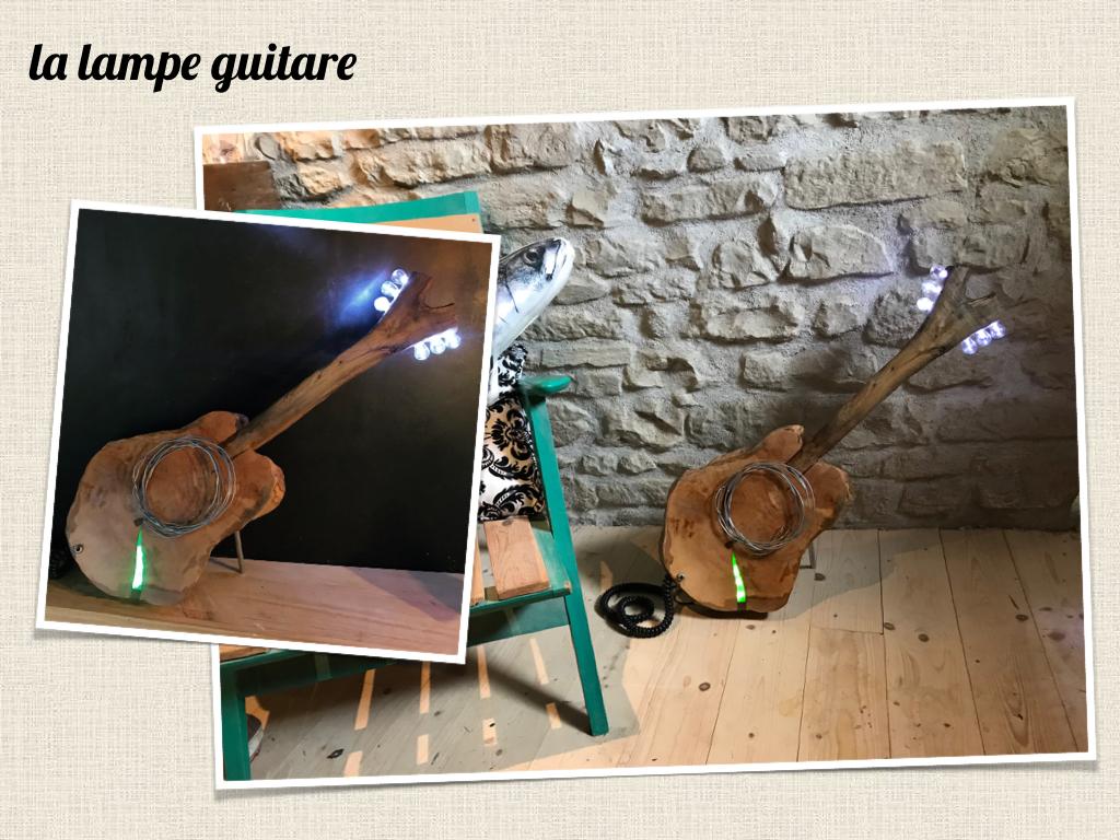la lampe guitare