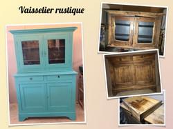 vaisselier rustique