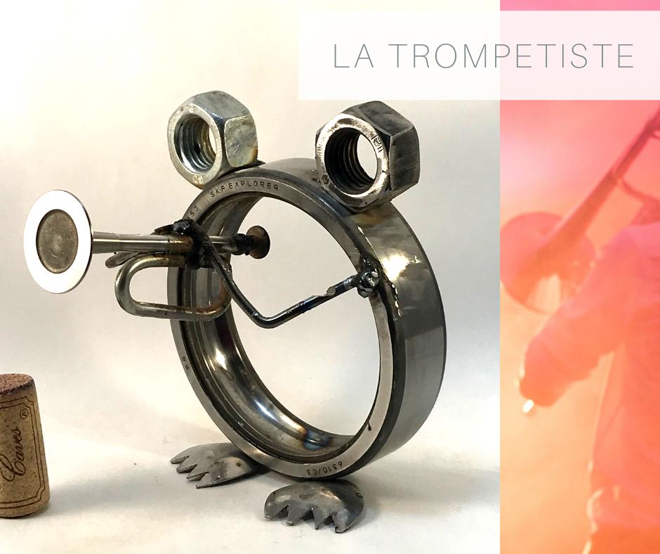 la grenouille trompettiste