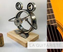 la grenouille guitariste