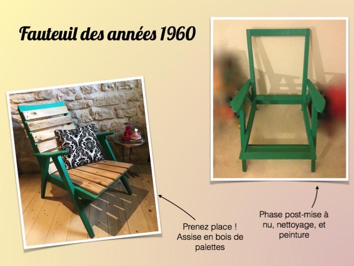 fauteuil bois