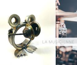 la grenouille musicienne