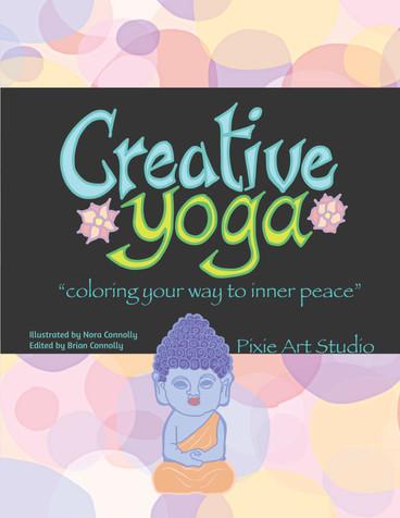 Creative Yoga Adult Coloring Book