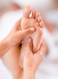 Sick of feeling hot then cold? Get relief by turning up the pressure with Reflexology.