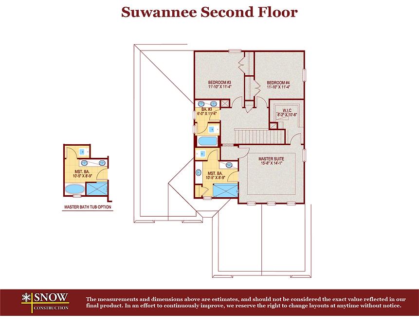 Suwannee Floor Plan Home For Sale St. Cloud Florida