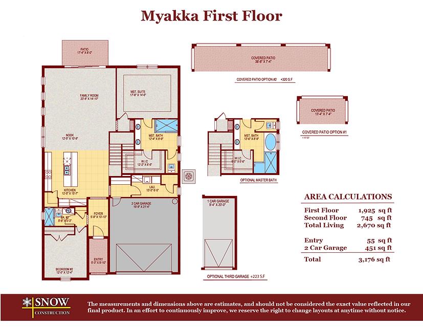 Myakka Floor Plan Home For Sale St. Cloud Florida