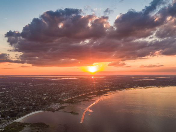 St. Cloud Lakefront Sunset