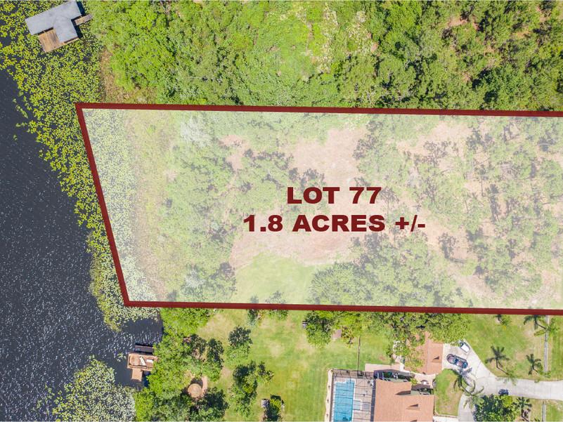 Lot 77 Land For Sale St. Cloud, FL 34769