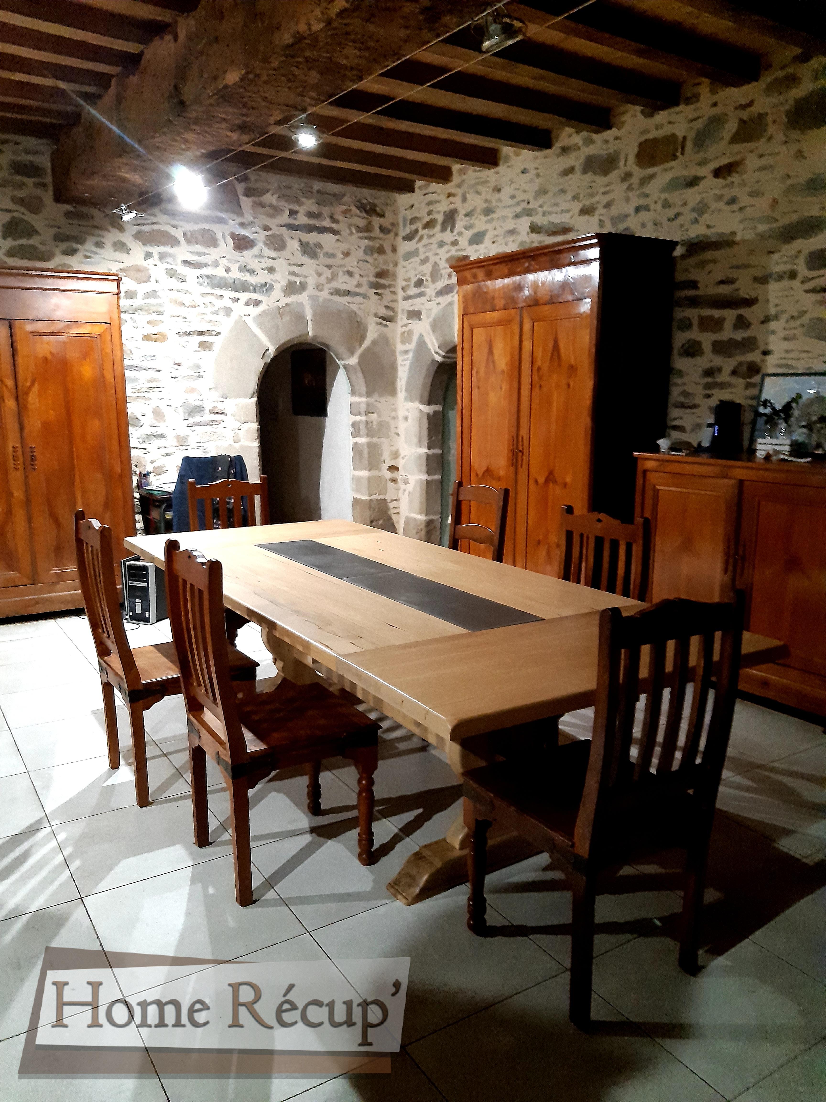 Table monastère insert ciment (1)