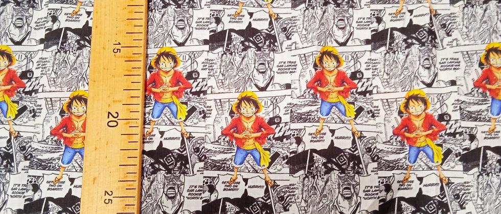 Algodón manga One Piece