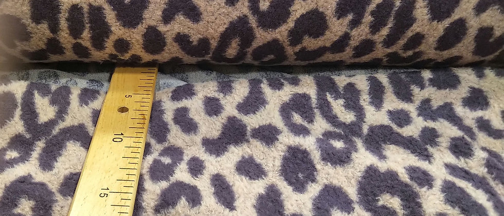 Polar leopardo tonos lilas
