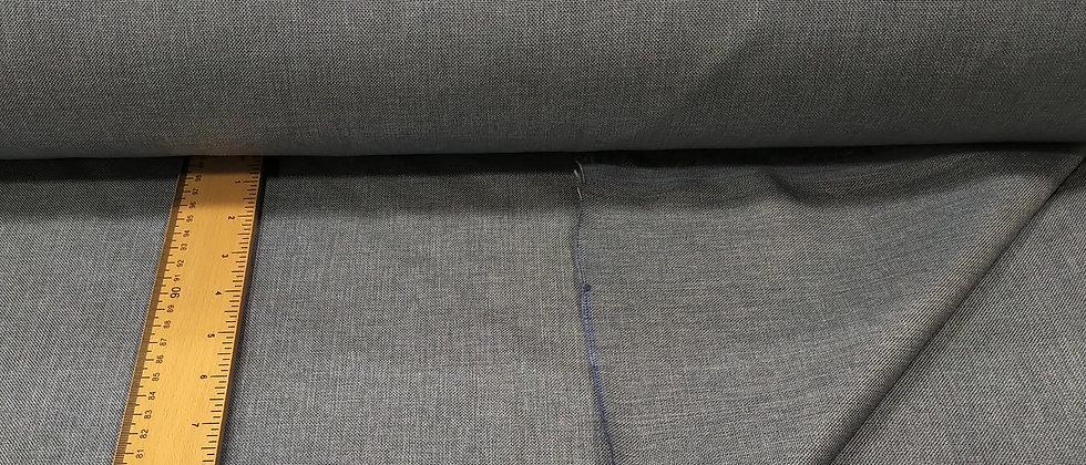 Loneta jaspeada azul grisáceo 2.80m ancho