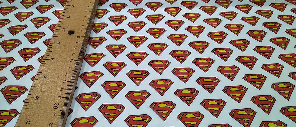 Superman logo algodón
