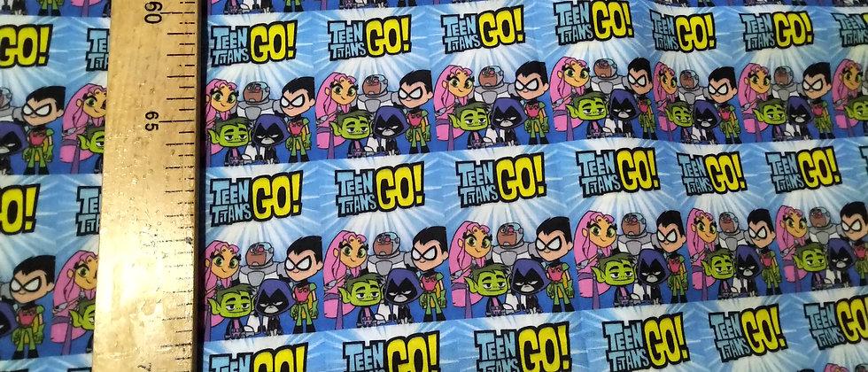 Retal algodón 33x48cm Teen Titans Go!