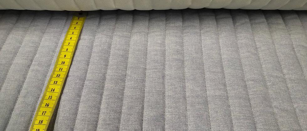 Acolchado gris tejano
