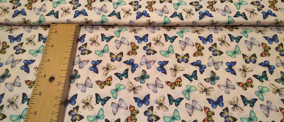 Algodón mariposas