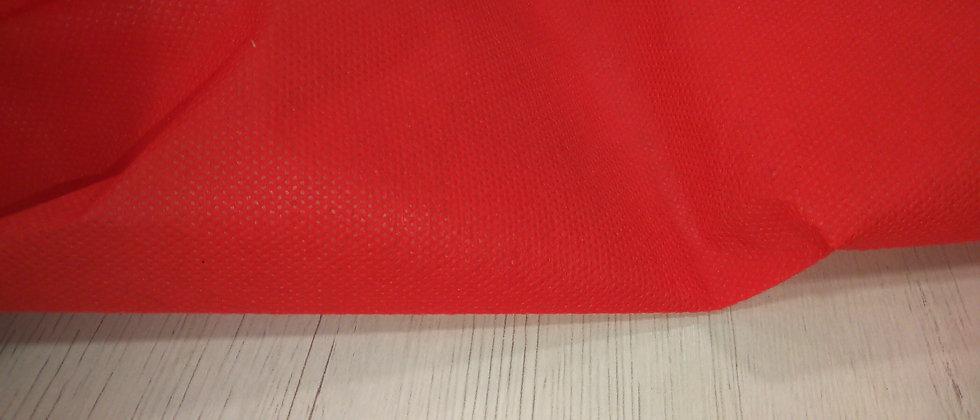 Tejido TNT rojo 1m ancho