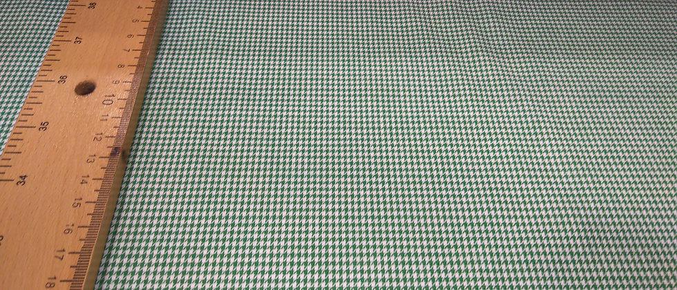 Algodón Pata de gallo verde