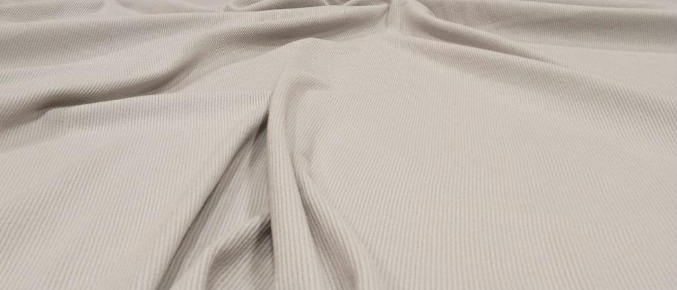 Punto de canalé gris