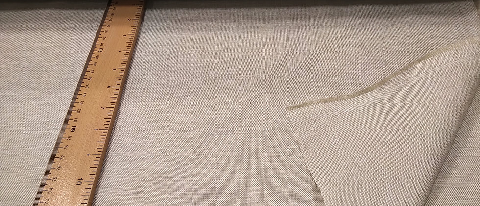 Loneta jaspeada beige claro 2.80m ancho