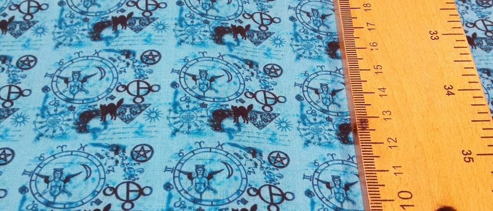 Retal algodón 33x48cm Horóscopos