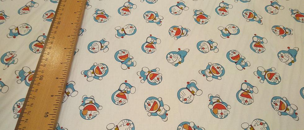 Algodón Doraemon