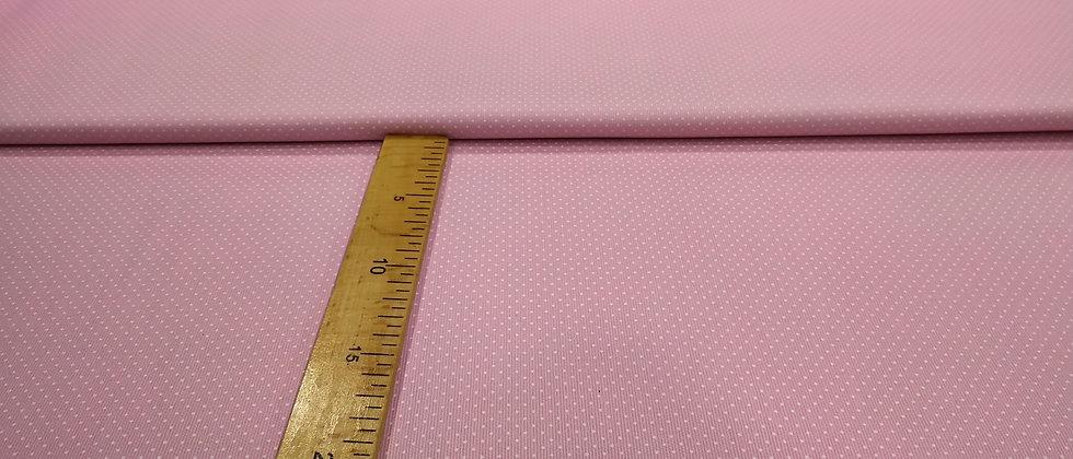 Fondo rosa topos blancos pequeños